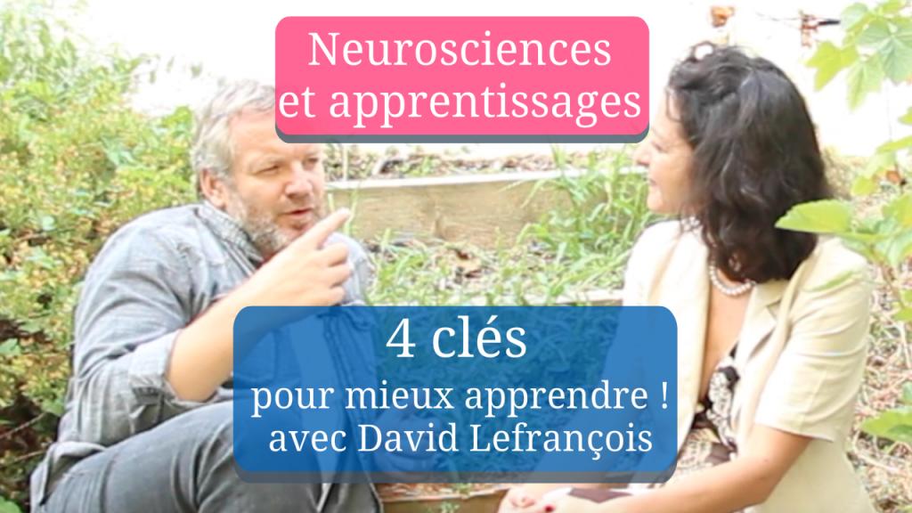 Les neurosciences au service des apprentissages