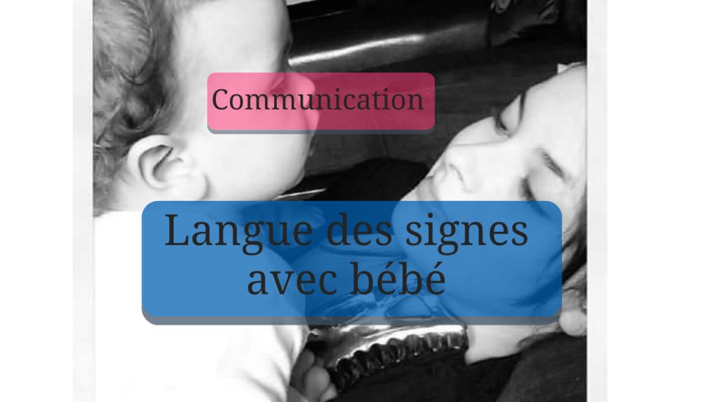 Communiquer avec son bébé par signes